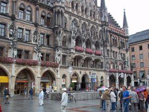 Marienplatz Ol Town Munich